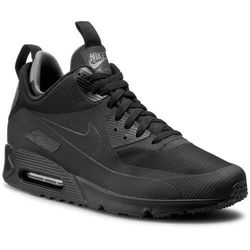 Buty NIKE - Nike Air Max 90 Mid Wntr 806808 002 Black