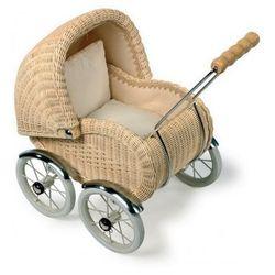 Wózek wiklinowy dla lalek Leonor