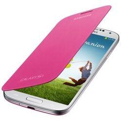 Oryginalne etui z klapką Samsung Galaxy Mega 6.3 - różowe - Samsung Flip Cover