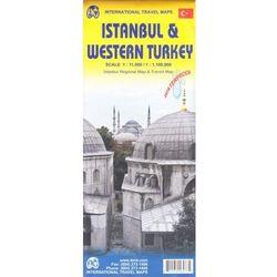 Stambuł i zachodnia Turcja mapa 1:11 000/1:1 100 000 ITMB (opr. miękka)