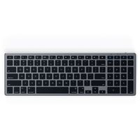 SATECHI ALUMINUM SLIM WIRELESS KEYBOARD Space Gray | iMac