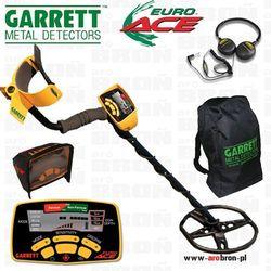 Wykrywacz metalu GARRETT EURO ACE 350 + słuchawki