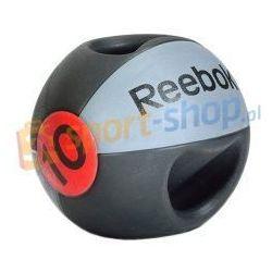 Piłka lekarska z podwójnym uchwytem 10 kg Reebok Dostawa GRATIS!