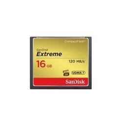 Karta pamięci SanDisk CF 16GB Extreme Pro 120 MB/s (SDCFXS-016G-X46) Darmowy odbiór w 19 miastach!