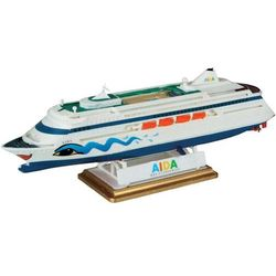 Model statku pasażerskiego do sklejania Revell Aida 1:1200.