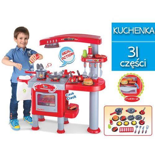 Duża Kuchnia Dla Dzieci Z Akcesoriami Piekarnik Okap 008 83