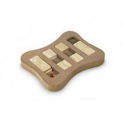 Zabawka dla zwierząt Nobby BrainBoard Slip edukacyjna Brązowa