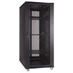 Szafa Linkbasic 27U 600x800 + drzwi przednie z perforowanej stali z zamkiem + cztery wentylatory + dwie półki + listwa zasilająca