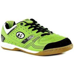 HASBY 1514E zielone buty młodzieżowe sportowe halowe - zielony