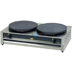 Naleśnikarka podwójna Roller Grill CDG400 gazowa - średnica płyt 2x400 mm