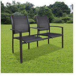 Metalowe krzesła ogrodowe z mini stolikiem Zapisz się do naszego Newslettera i odbierz voucher 20 PLN na zakupy w VidaXL!