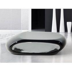 Stolik kawowy – czarny – stól – lawa – wlókno szklane - NESSUS
