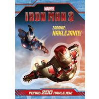 Iron Man 3 Zadanie naklejanie! (opr. miękka)