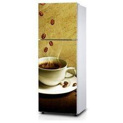 Naklejka na lodówkę - Aromat kawy - Naklejka laminowana