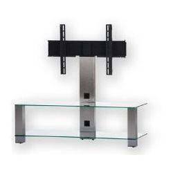 PLASMA PL2400 Silver- Stolik rtv z uchwytem do LCD