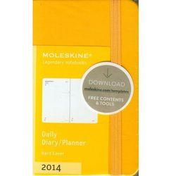 Kalendarz 2014 XS Moleskine dzienny żółty