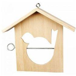 Karmnik drewniany dla ptaków