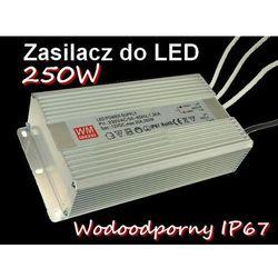 ZASILACZ Taśma LED RGB 12V 250W 20,83A IP67 /8514/