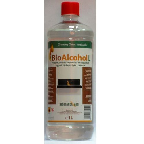 Biopaliwo do kominków 1L by Globmetal