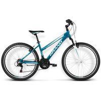 """Rower górski Kross Grand Roxy 100 M(17"""") turkusowo biały połysk WYSYŁKA GRATIS!!! - M(17"""") turkusowo biały połysk"""
