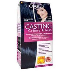 Casting Creme Gloss farba do włosów 210 Noir Bleu Granatowa czerń