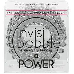 INVISIBOBBLE POWER Crystal clear - przezroczyste gumki do włosów 3 pack