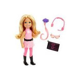 Barbie Chelsea Mała agentka Mattel (różowa)