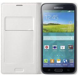 Samsung Flip Cover do Galaxy S5 Mini błyszczący biały