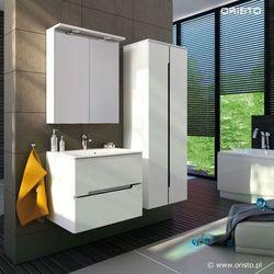 Meble łazienkowe Silver w kolorze Białym |Transport gratis!