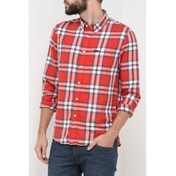 Koszula Lee Button Down Lava Red