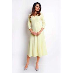 63ec338afe elegancka sukienka augusta zolta 42 - porównaj zanim kupisz