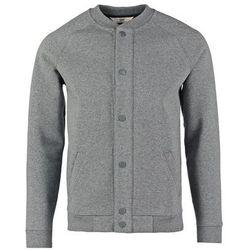 Lee BONDED BOMBER Bluza rozpinana dark grey melange