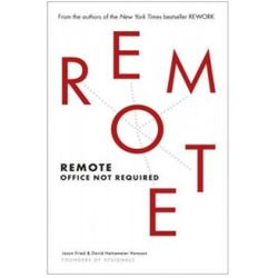 Jason Fried & David Hainemeier Hansson - Remote (opr. miękka)