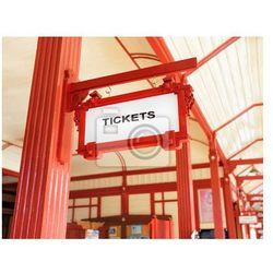 Obraz Znak wskazujący, gdzie można kupić bilety