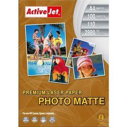 Papier fotograficzny matowy AP4-110M100L - A4 - 110g - 100szt.