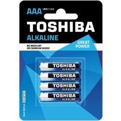 TOSHIBA Bateria Alkaline AAA LR03 TOSHIBA LR03 ALKALINE AAA