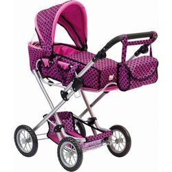 BINO Wózek dla lalek z torbą