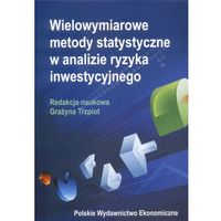 Wielowymiarowe metody statystyczne w analizie ryzyka inwestycyjnego (opr. kartonowa)