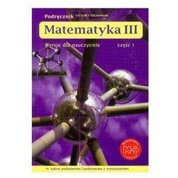 Matematyka z plusem 3 Podręcznik Część 1 Wersja dla nauczyciela