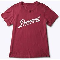 koszulka DIAMOND - Diamond Athletic Tee Burgundy (BUR)