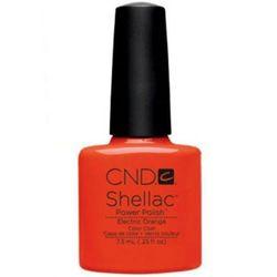 CND Shellac Electric Orange