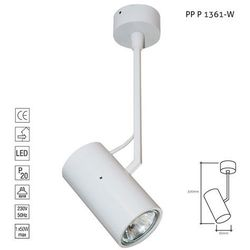Lampa sufitowa PP 1361 Biała