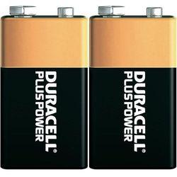 Baterie alkaiczne Duracell Plus 9V, 2 szt.