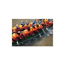 Foto naklejka samoprzylepna 100 x 100 cm - Zespół działalność budowlana, wioślarstwo wyścigi smoczych łodzi