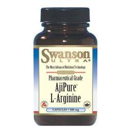Swanson AjiPure L-Arginina 500mg 60 kaps.