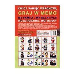 Graj w memo. Gra planszowa (opr. miękka)