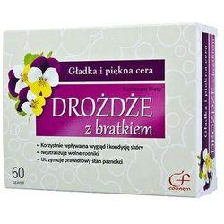 COLFARM 60 tabletek Drożdże z bratkiem suplement diety