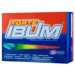Ibum Forte kapsułki elastyczne 0,4g 36 kapsułek