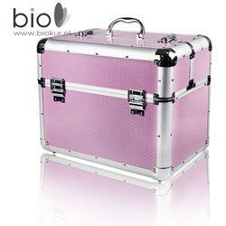Kuferek kosmetyczny duży XXL różowy – Neonail