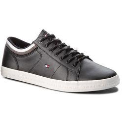 8ef148778 Sneakersy TOMMY HILFIGER - Essential Leathermix Low Sneaker FM0FM01632 Black  990